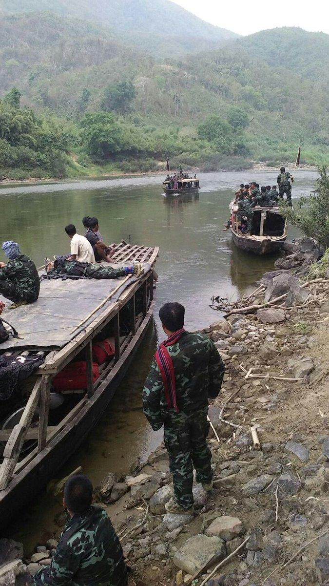 Hmar cadres boat