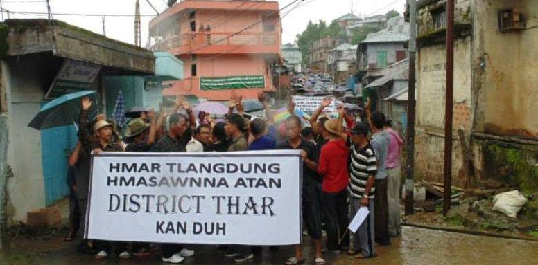 Mizoram district demand