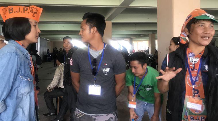 bjp-volunteers-aizawl